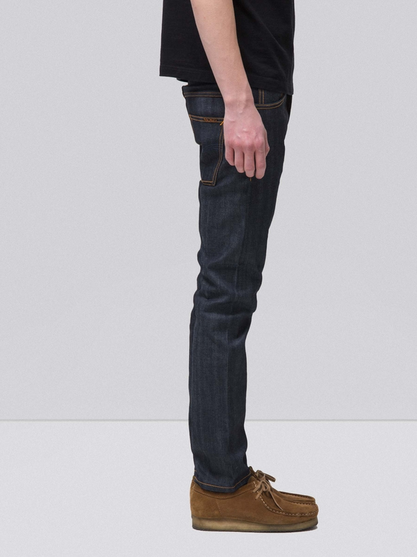 thin finn dry selvage comfort nudie jeans