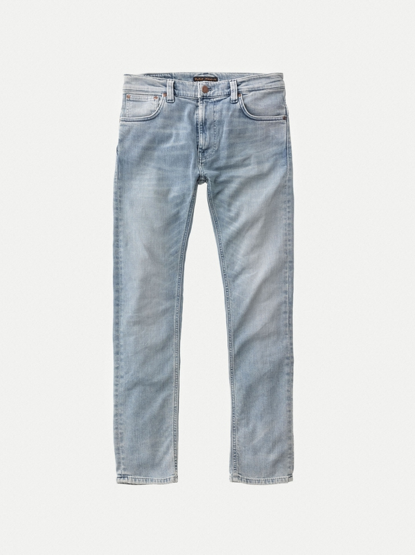 Thin Finn Light Broken Indigo prewashed jeans