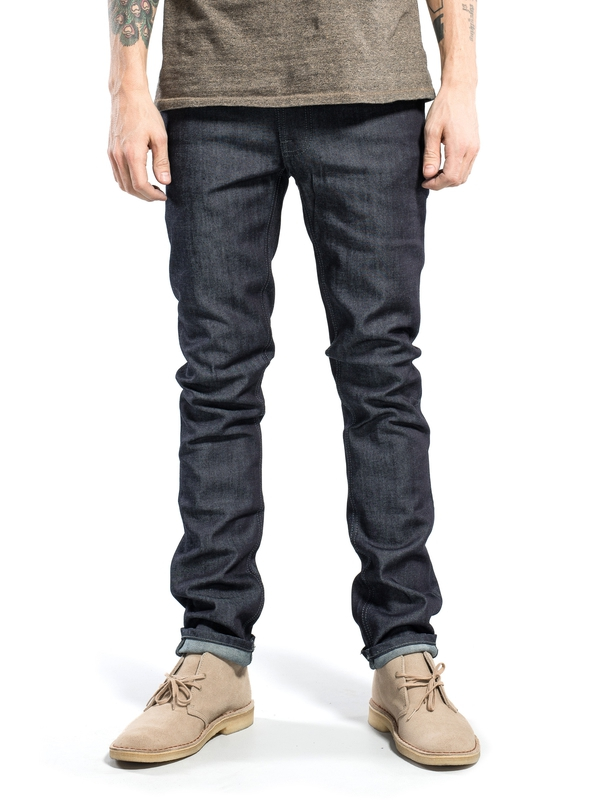 Thin Finn Dry Dark Grey dry jeans