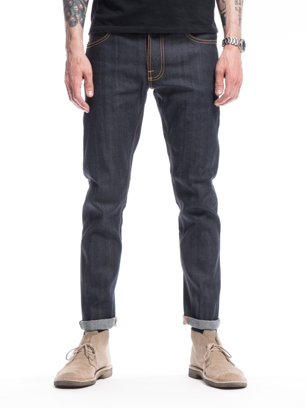 Thin Finn Dry Selvage Comfort dry jeans selvage