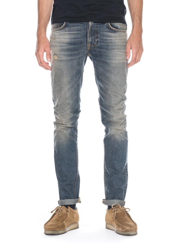 Thin Finn Sidegrinder Selvage prewashed jeans selvage