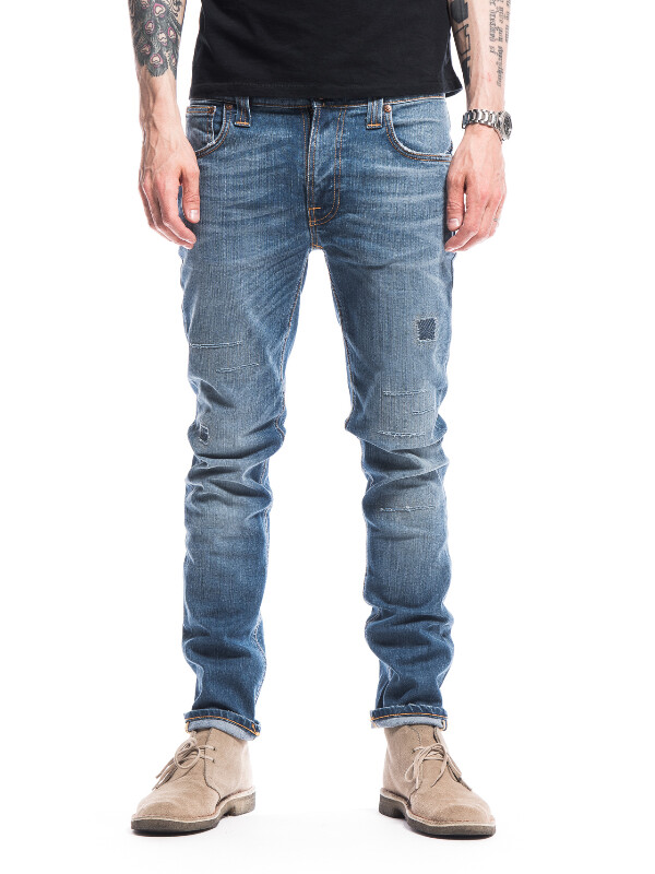 Thin Finn Tommy Replica prewashed jeans