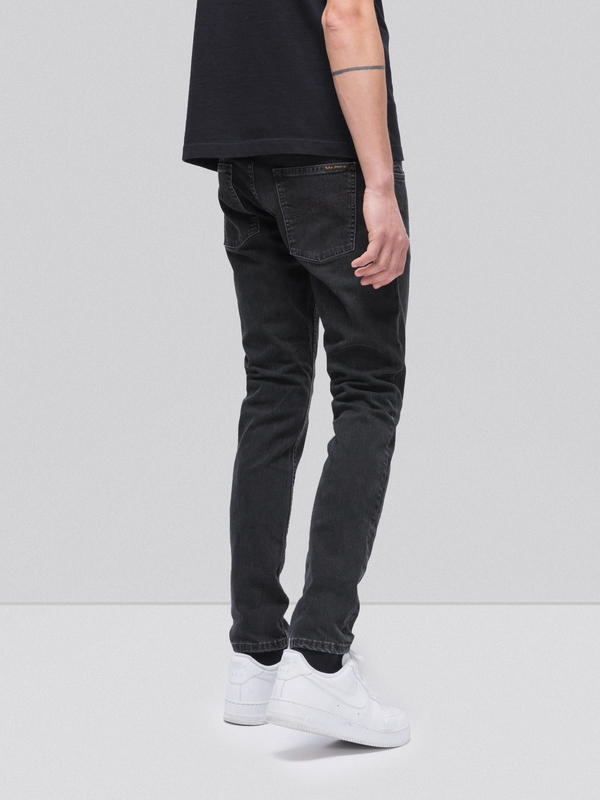 Tight Terry Black Stone Pwr black jeans