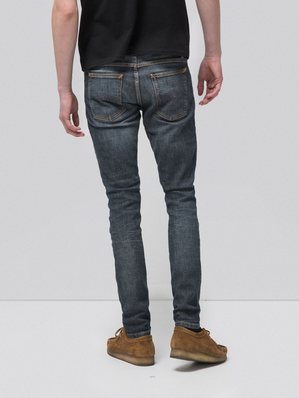 Tight Terry Dark Pacific prewashed jeans