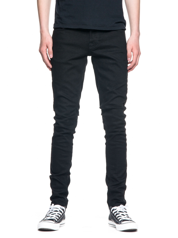 Tight Terry Deep Black black jeans