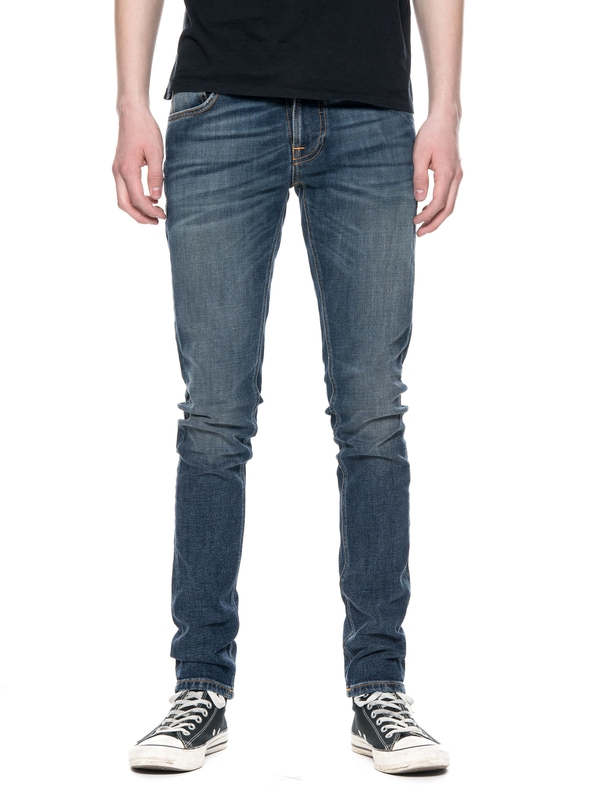 Tight Terry Double Indigo prewashed jeans
