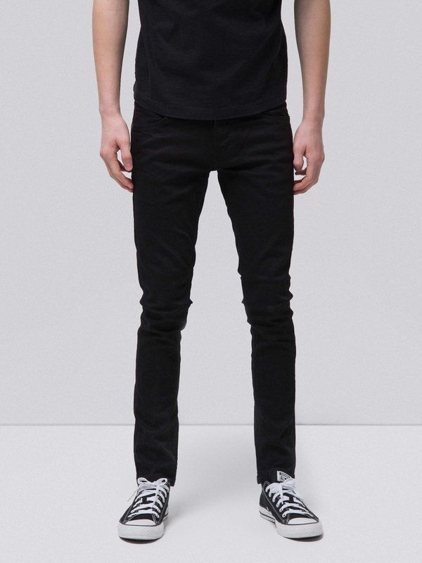 Tight Terry Everblack black jeans