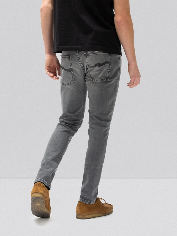 Tight Terry Mid Grey Pwr prewashed jeans