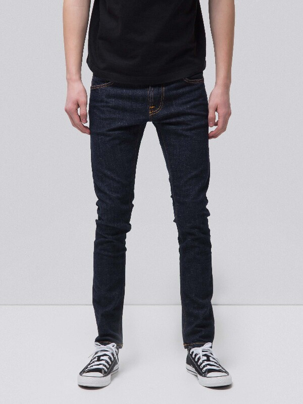 Tight Terry Rinse Twill Orange dry jeans