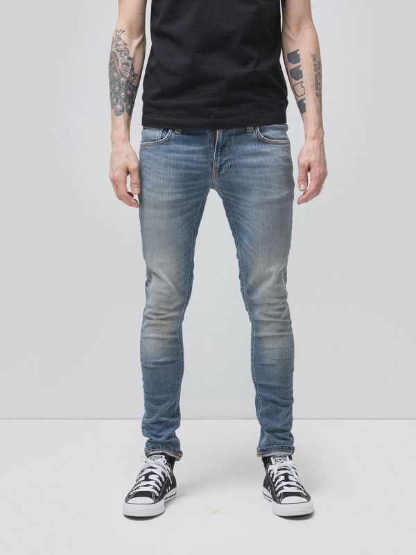 Tight Terry Strikey Pale prewashed jeans
