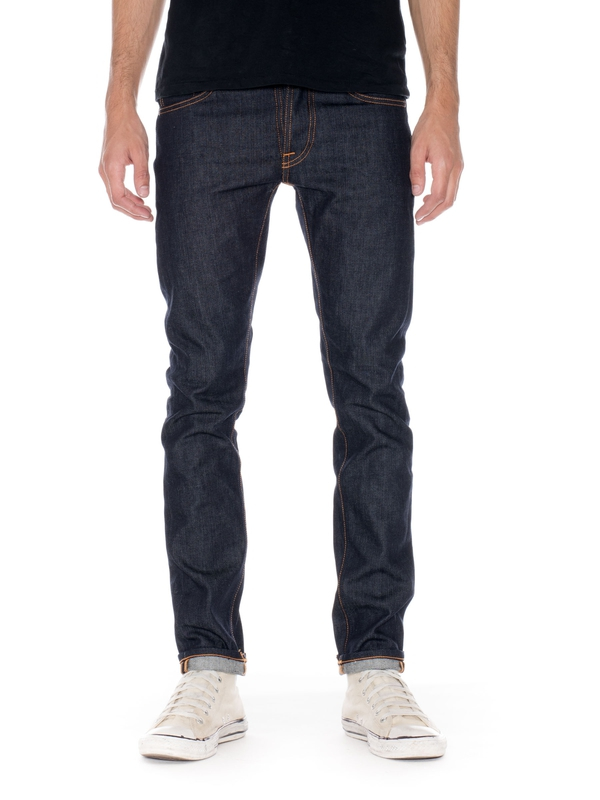 Tilted Tor Dry Pure Navy dry jeans