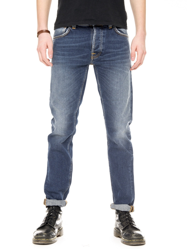 Tilted Tor Shackled And Blue prewashed jeans