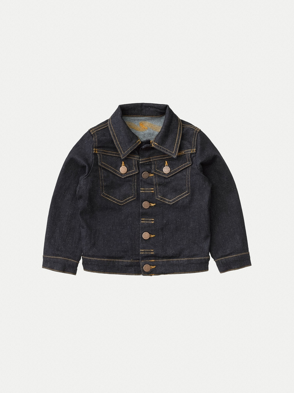 Tiny Tore Kid Dry Rinse Denim kids tops