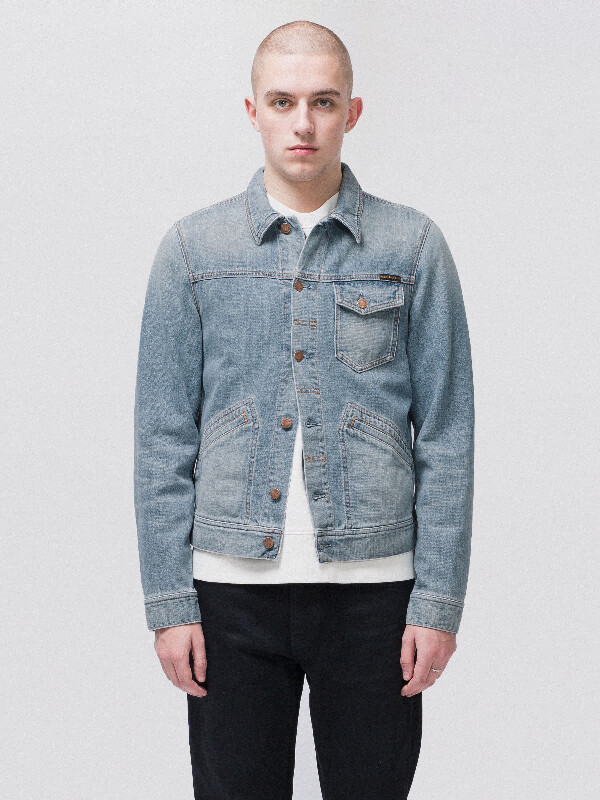 Tommy Broken Twill prewashed denim-jackets