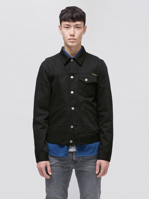 Tommy Dry Black Twill black denim-jackets