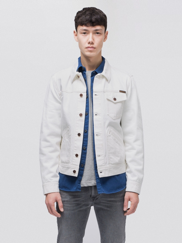 Tommy Dry Bone Ecru prewashed denim-jackets