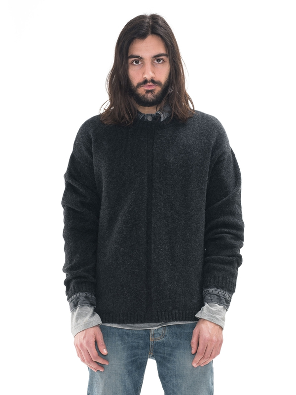Tommy Recycled Antracite knits