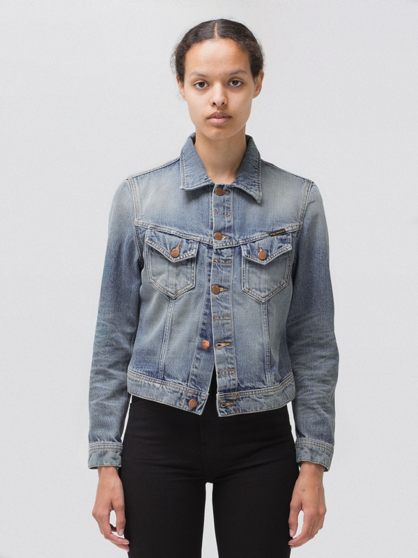 Tove Used Original prewashed denim-jackets