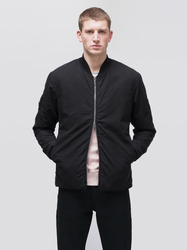 Tor Padded Bomber Black jackets