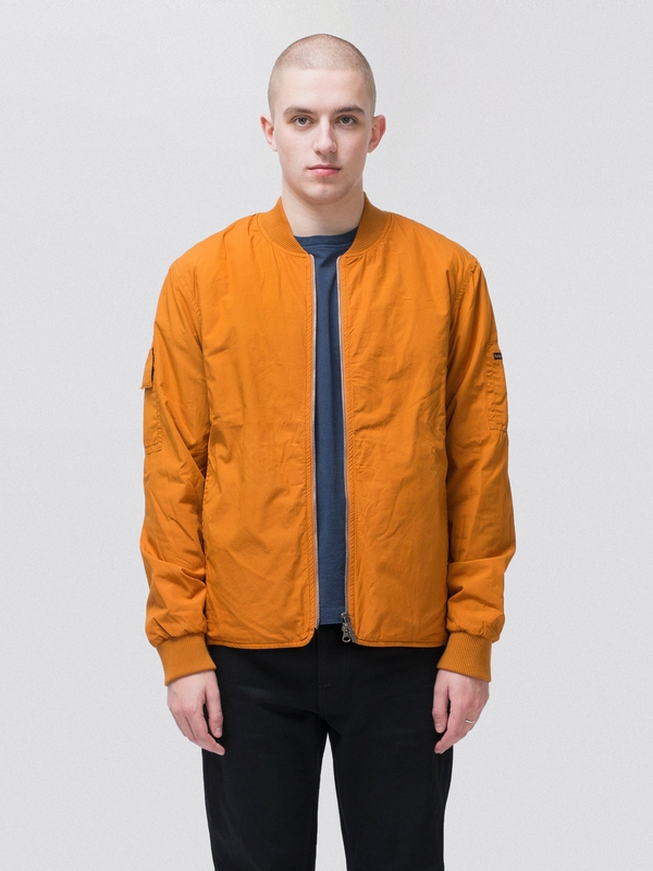 Tor Padded Bomber Orange jackets