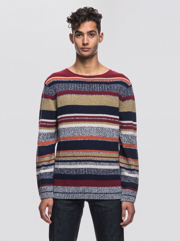Tor Tweed Stripe Multi knits