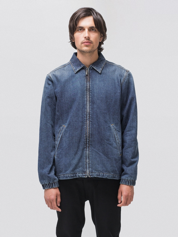 Torkel Vintage Blue denim-jackets