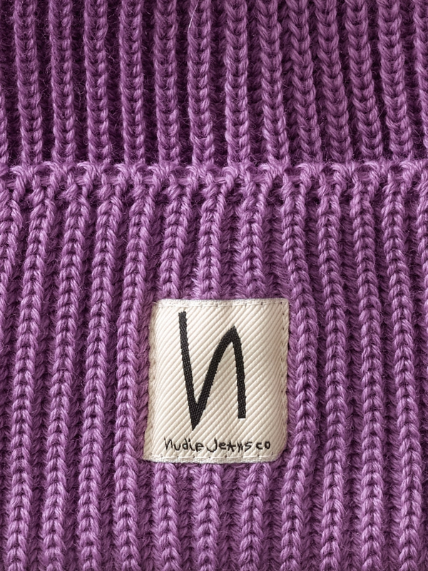 Tysson Ribbed Beanie Lilac
