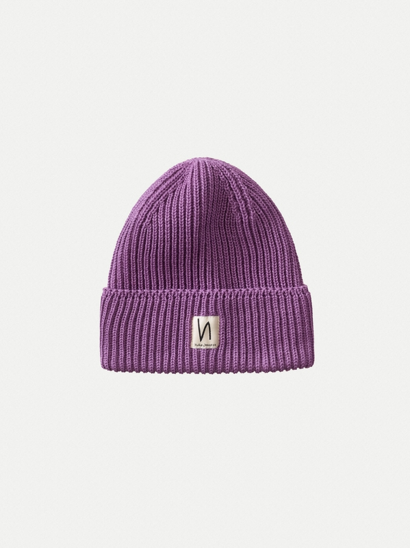 Tysson Ribbed Beanie Lilac hats accessories