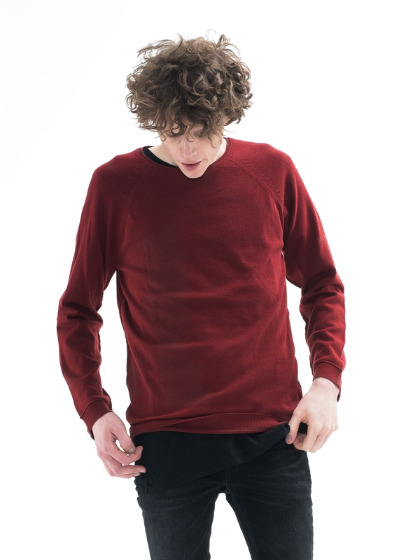 Viktor Light Cotton Falun Red knits