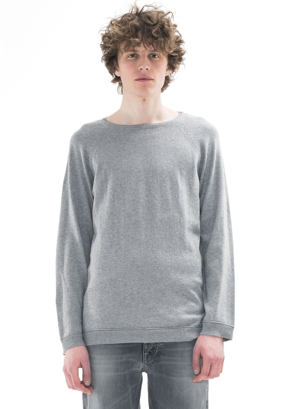 Viktor Light Cotton Greymelange knits