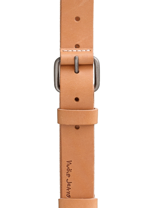 Wayne Leather Belt Natural