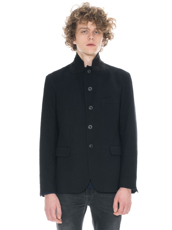 Wilhelm Washed Wool Black