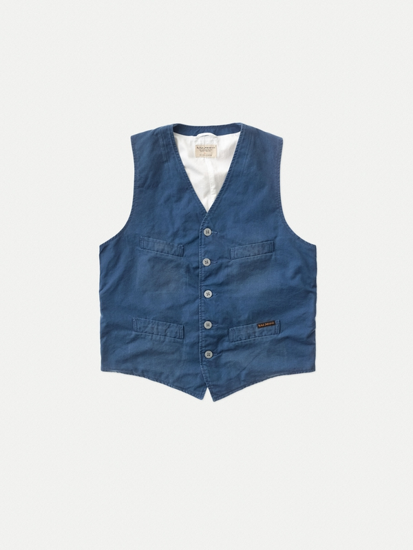Gustav Fine Canvas Oden Blue jackets