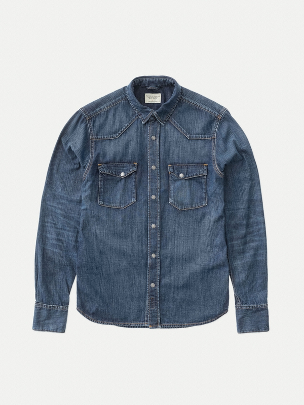Jonis Legendary Icon Denim long-sleeved shirts