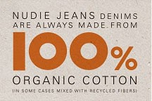 100 percent organic cotton