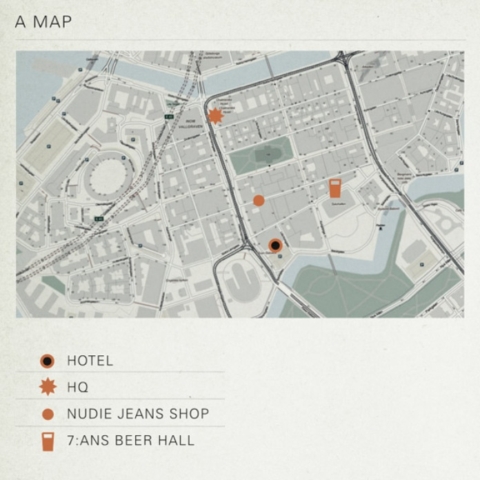The essential map of Gothenburg.