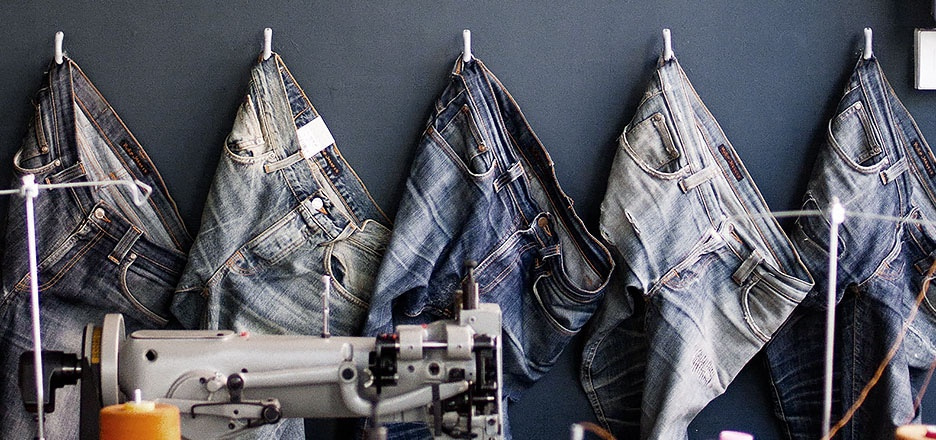 Jeans are meant to be used - and reused
